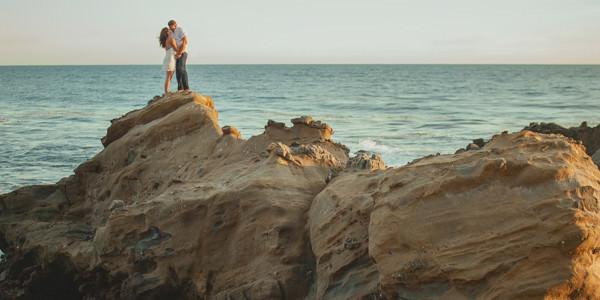 Tessa and Don // Engaged // Laguna Beach