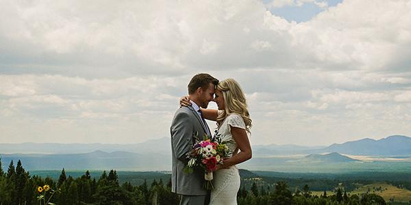Ashley and Aaron // Flagstaff, Arizona