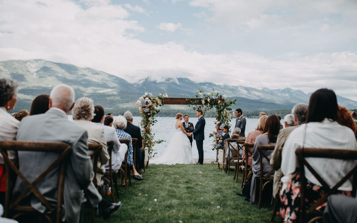 Hanna and JP // Flathead Lake, Montana