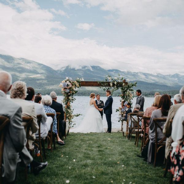 Hanna and JP // Flathead Lake, Montana